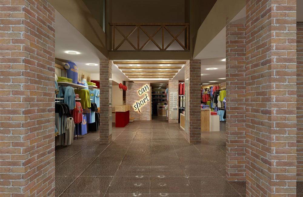 Can Sport Mağaza Projesi